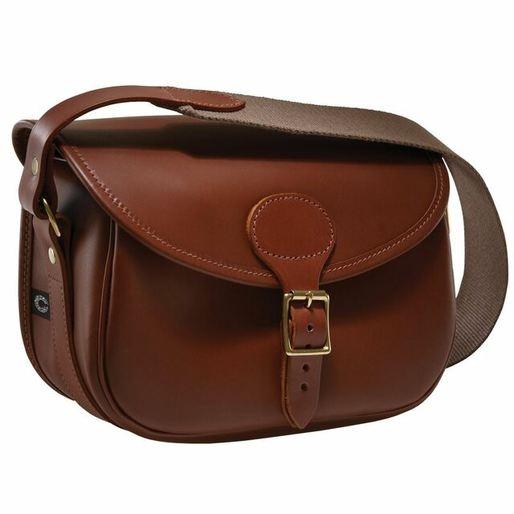 Leather cartridge bag - 75
