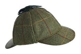Tweed Sherlock Hat
