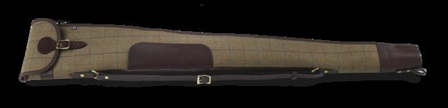 Tweed shotgun slip - with flap and zip